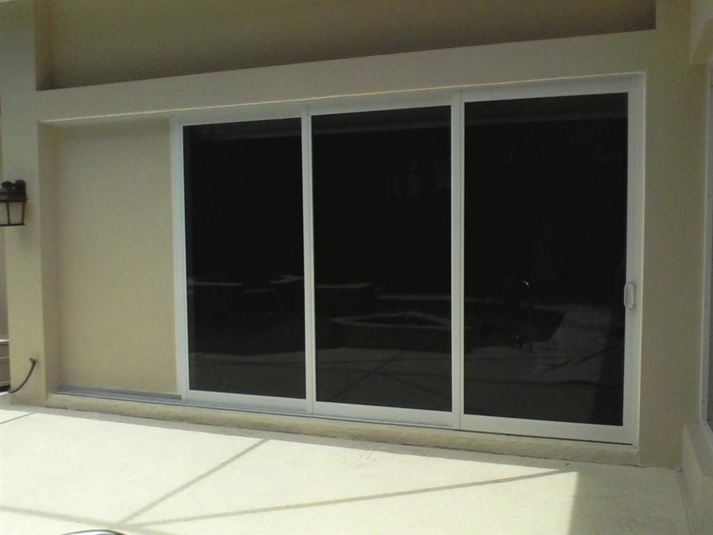 Sliding Glass Pocket Patio Doors 381