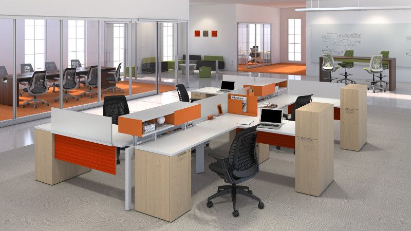 Allsteel Further Systems Accessories Mimeo Chair Office Desk Allsteel Be Office Furniture Modern Modular Office Furniture Commercial Office Furniture