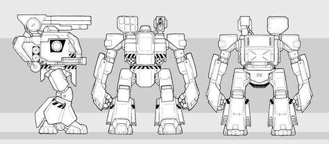 Image result for robot blueprints for 3d modeling robotsmachine image result for robot blueprints for 3d modeling malvernweather Gallery