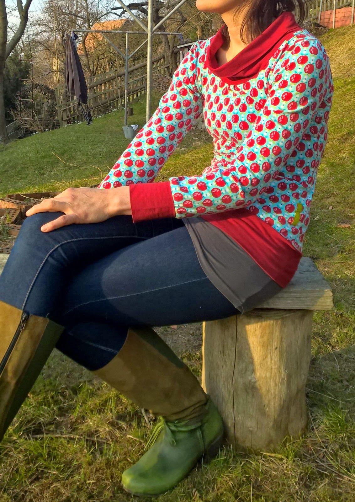 Shelly von Jolijou | nähen Shirts und Ideen | Pinterest | DIY fashion