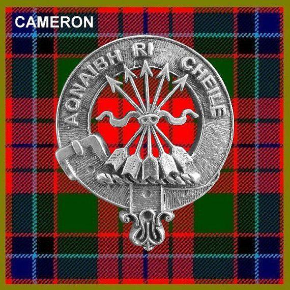 Ramsay Clan Crest Scottish Cap Badge