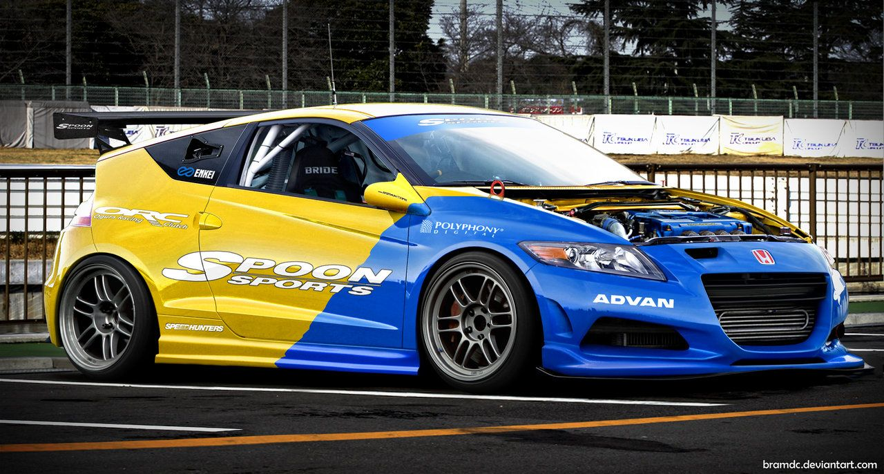 Spoon Sports Cr Z By Bramdc Deviantart Com On Deviantart Honda Honda Cr Honda Cars