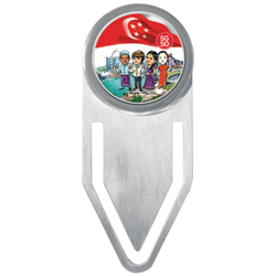 The Singapore Mint's SG50 Collection! SG50 STAINLESS STEEL BOOKMARK