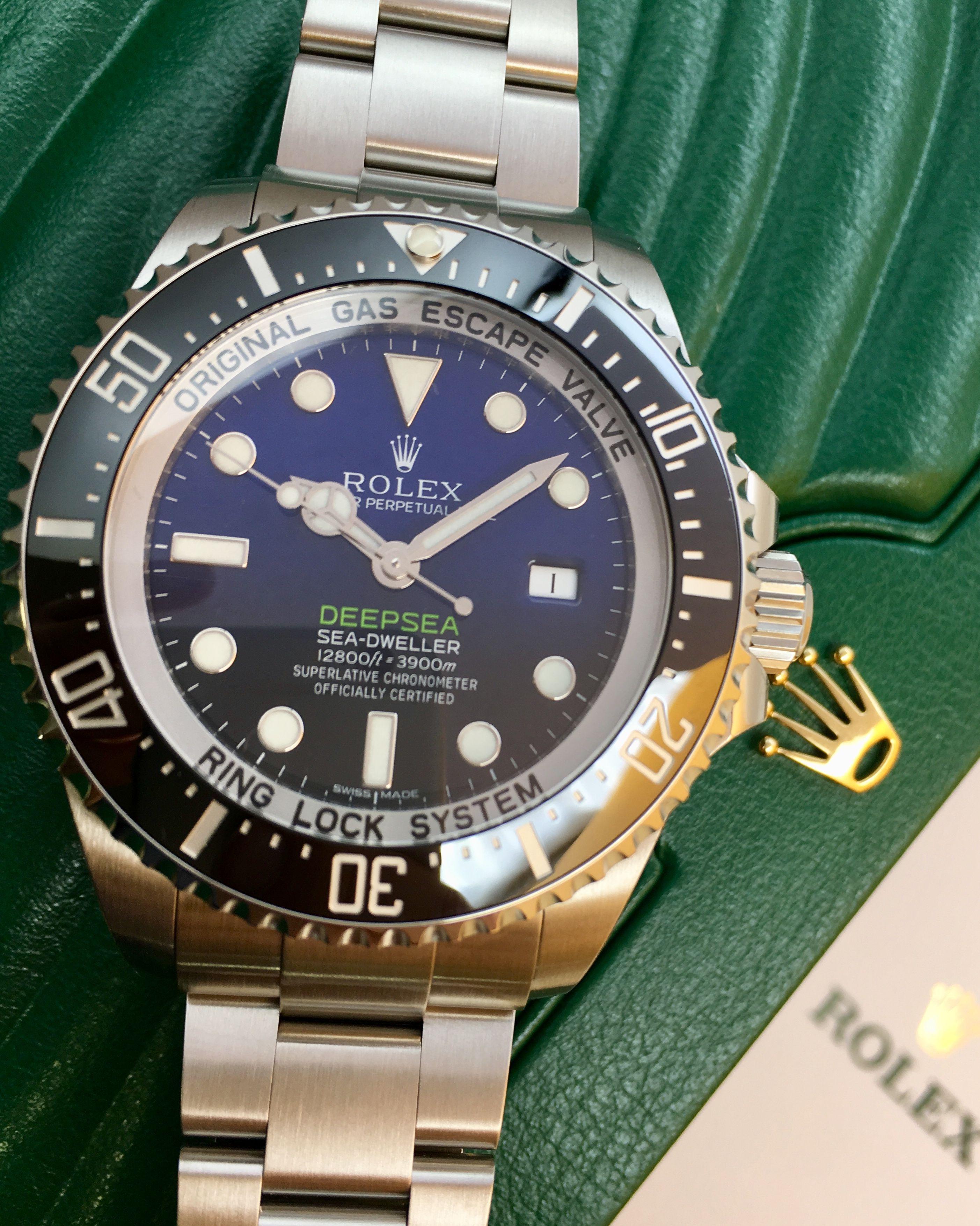 Rolex Deepsea Deep Blue 116660 Rolex, Watches for men