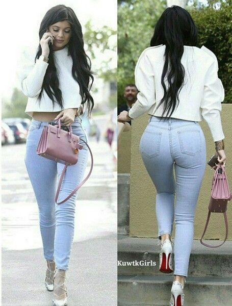 Kylie jenner outfit for easter day, streetstyle