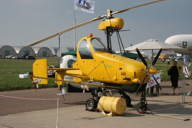 odd aircraft | Strange looking gyrocopter - with the name