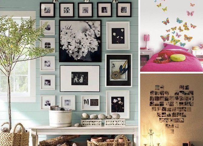 La decoración de paredes puede darle una nueva vida al hogar Puedes - diseos vintage