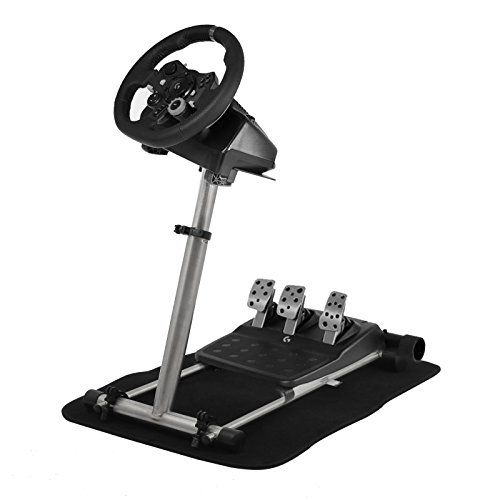 e2b7e250374 VEVOR Steering Wheel Stand Steering Wheel Column 360 Stepless Adjustable  Wheel Stand Pro Shifter Mount Stand