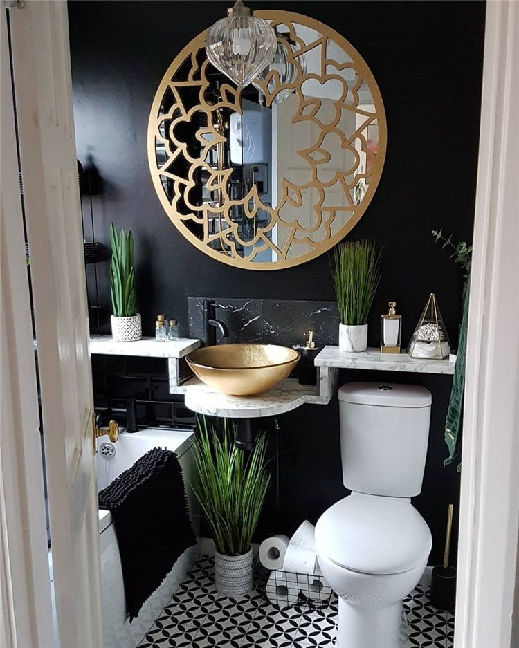 30 Small Bathroom Inspiration How To Decorate Small Bathroom