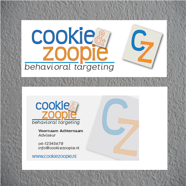Visual identity design for Cookie & Zoopie   Designed for a pitch   Interested in a design? www.beeldkrachtontwerp.nl