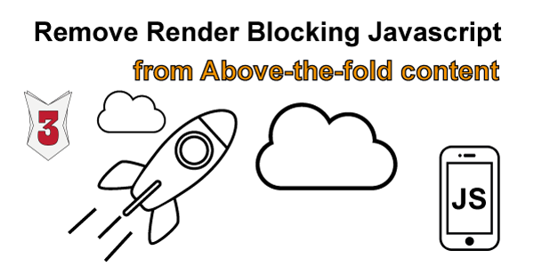 Fix Eliminate render-blocking JavaScript and CSS in above-the-fold content