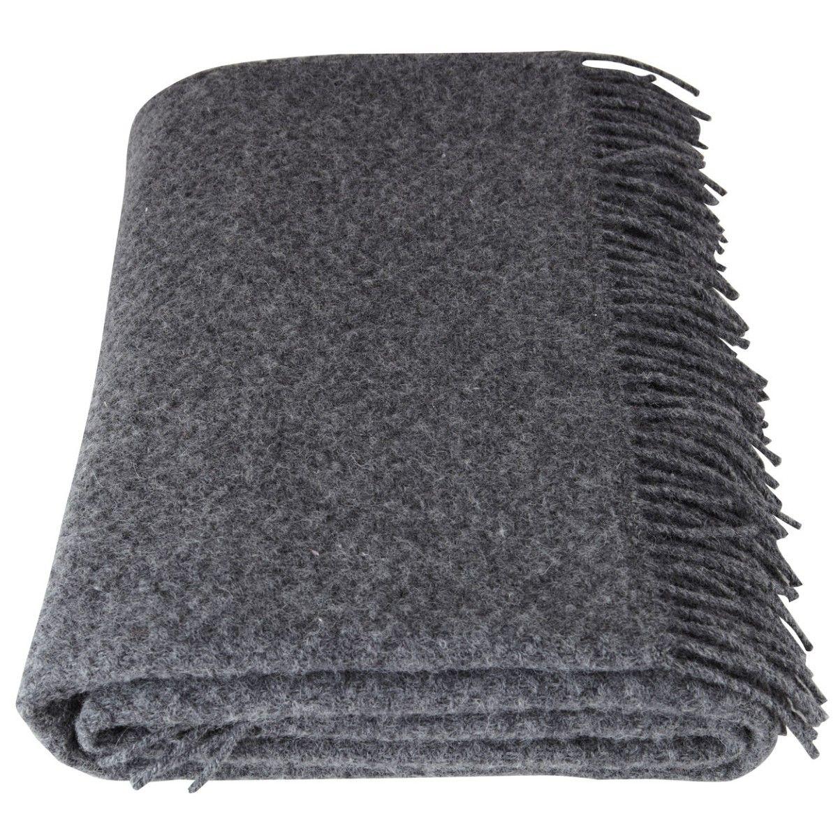 Woollen Charcoal Blanket Woollen Blankets Luxury Blanket Blanket