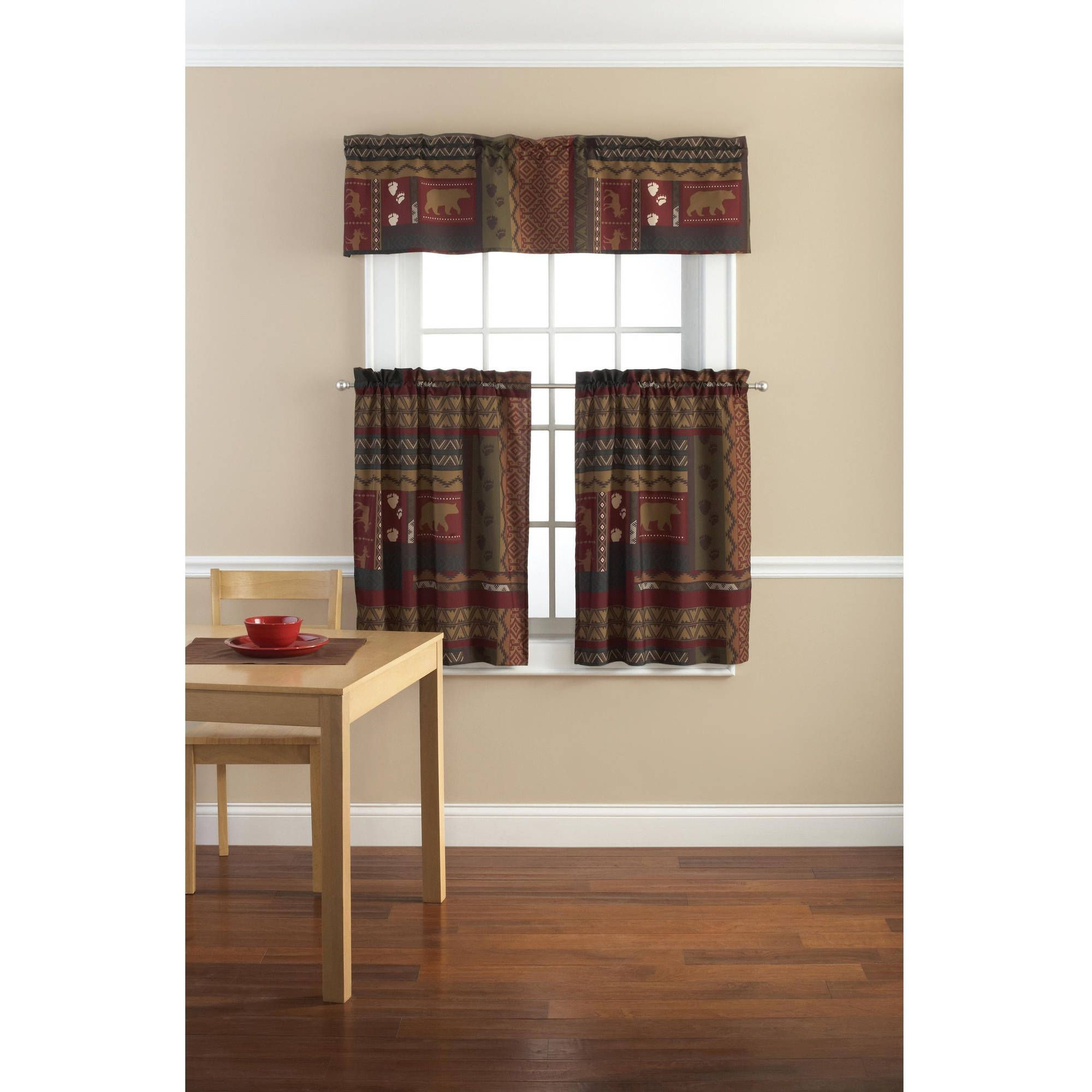 Outdoor themed window curtains realtagfo pinterest