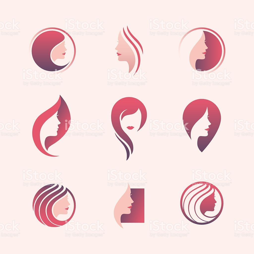 Beauty Salon Icon Set Royalty Free Beauty Salon Icon Set Stock Vector Art More Images Of Women Logo Salon Logo De Salon De Beaute Logo Cosmetique