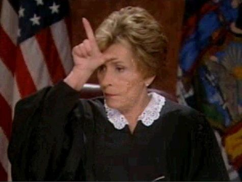 Image result for eye roll judge judy