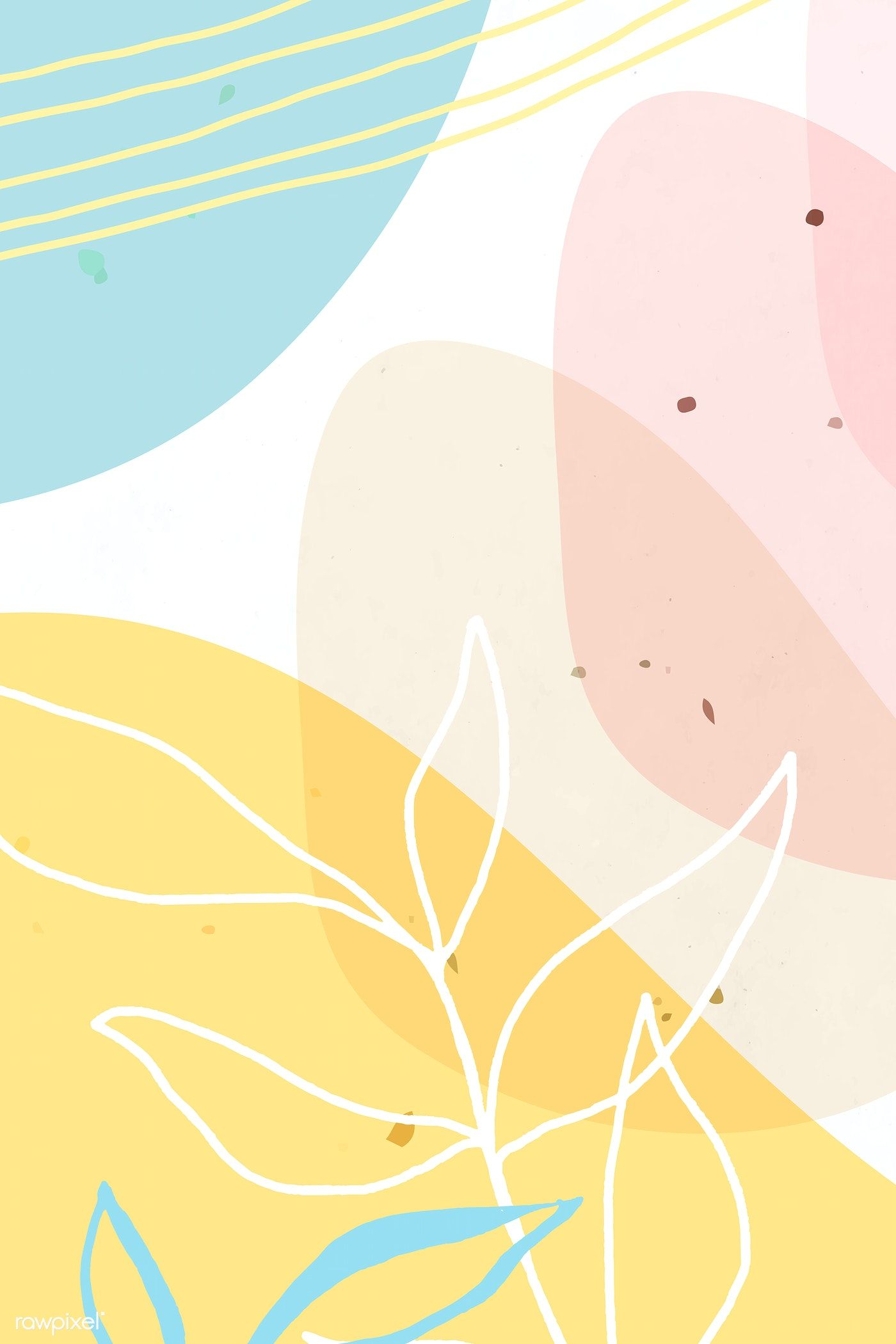Download Premium Vector Of Abstract Pastel Memphis Patterned Background Seni Abstrak Abstrak Lukisan Abstrak Abstract spring wall mural from happywall #natureabstract #brushstrokes #modern #grunge #springvibes. download premium vector of abstract