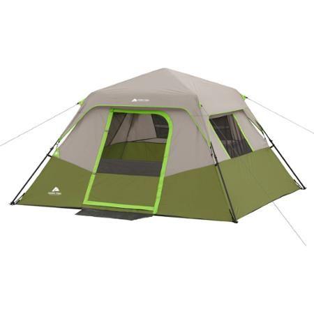 Ozark Trail 6 Person Instant Cabin Tent Walmart Com Cabin Tent Ozark Trail Hiking Tent