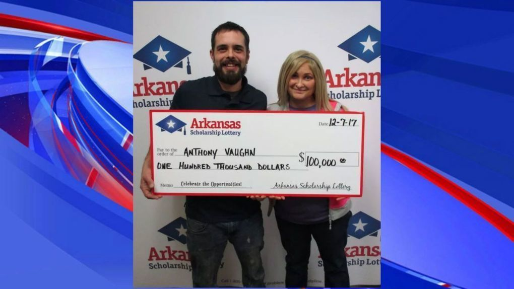 Arkansas man wins lottery after losing home to fire