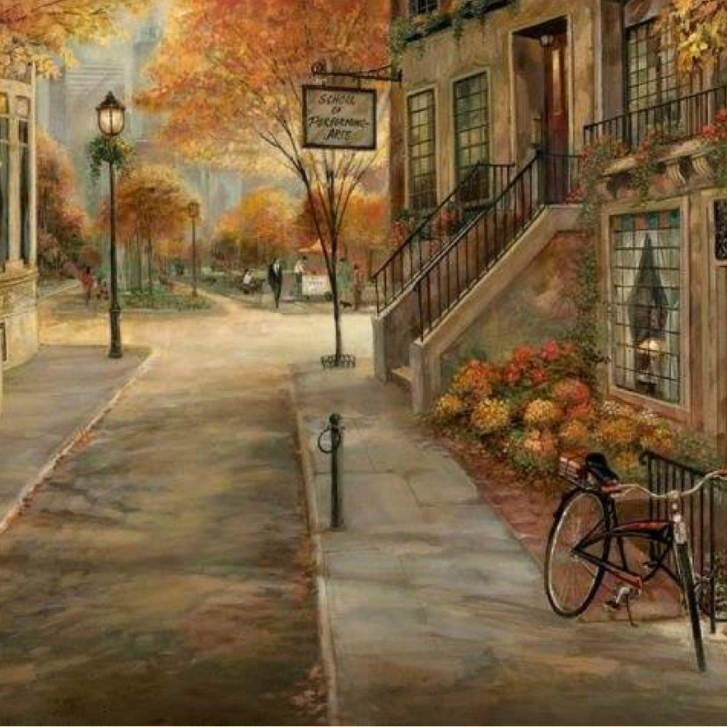 Pin von Luiza Mara auf Art & Paintings - Houses / Landscapes | Pinterest