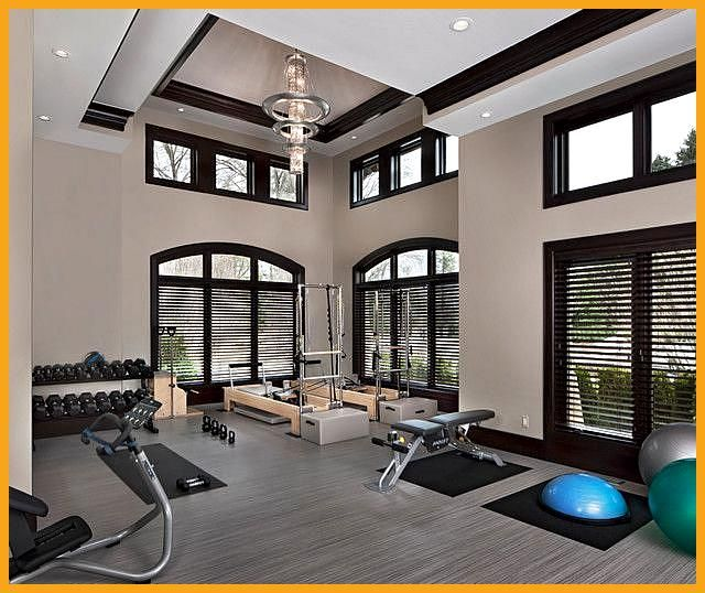 26 Luxury Home Gym Design Ideas for fitness Enthusiast, #Design #Enthusiast #Fitness #gym #gymhumor...