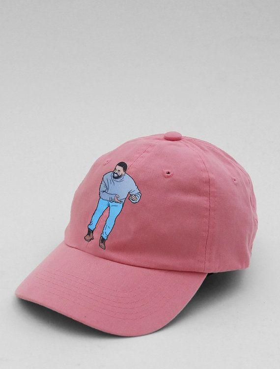 1462f6c93c9 Drake Dad Hat Headstock New Very Rare 100% Cotton Strapback