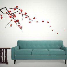 Japanese Cherry Blossom Wall Art Decals Purchase The Asian Japanese Cherry Blossom Branch V Japanese Wall Decor Baby Room Wall Decals Cherry Blossom Wall Art