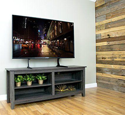 vivo universal lcd flat screen tv table top vesa mount stand black