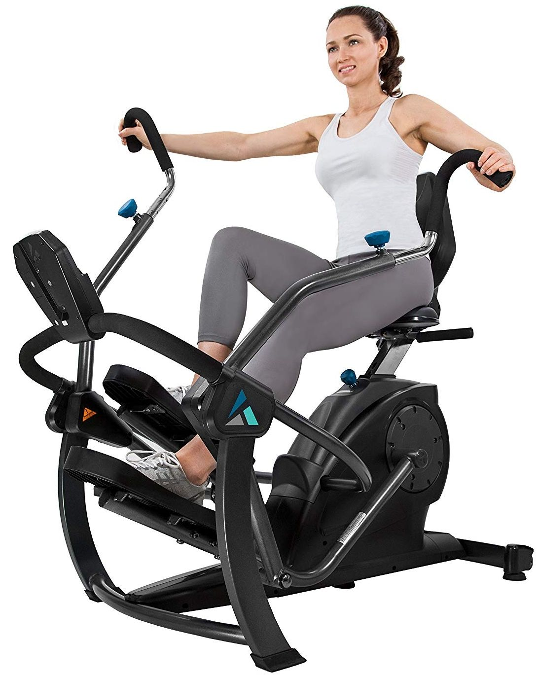 Teeter Freestep Recumbent Cross Trainer And Elliptical Biking Workout Best Exercise Bike Recumbent Bike Workout