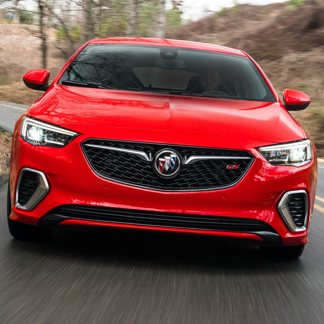 2019 Buick Regal Sportback Luxury Sedan: Car And Driver (@caranddriver) On