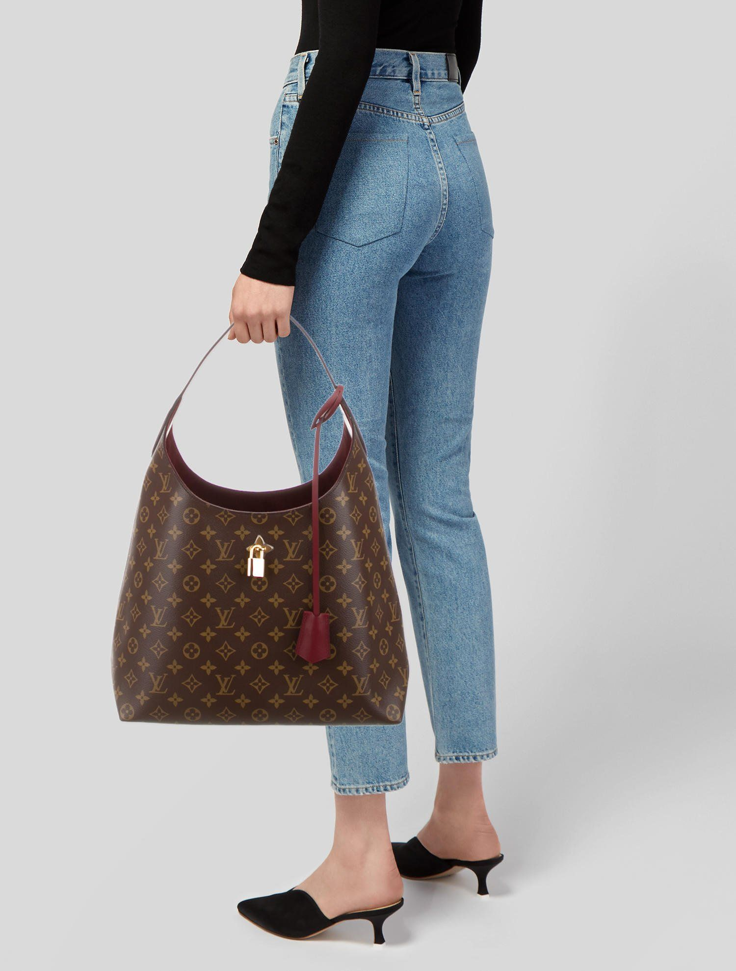 2018 Monogram Flower Hobo Hobo Handbags Louis Vuitton Handbags