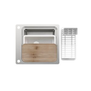 Romesco 1 Bowl Brushed Stainless Steel Sink In 2019