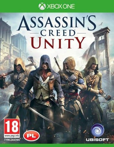 Assassins Creed Unity Pl Xbox One Klucz Digital 6930665710 Oficjalne Archiwum Allegro Assassins Creed Unity Assassins Creed Assassin S Creed