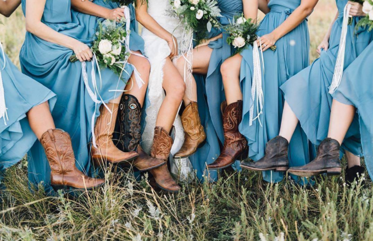 20 Slate Blue Bridesmaid Dresses Worth Obsessing Over Rustic