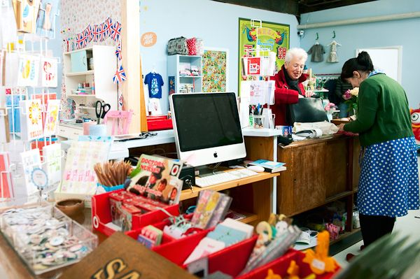 The Lark Shop, Daylesford by LarkingAbout, via Flickr