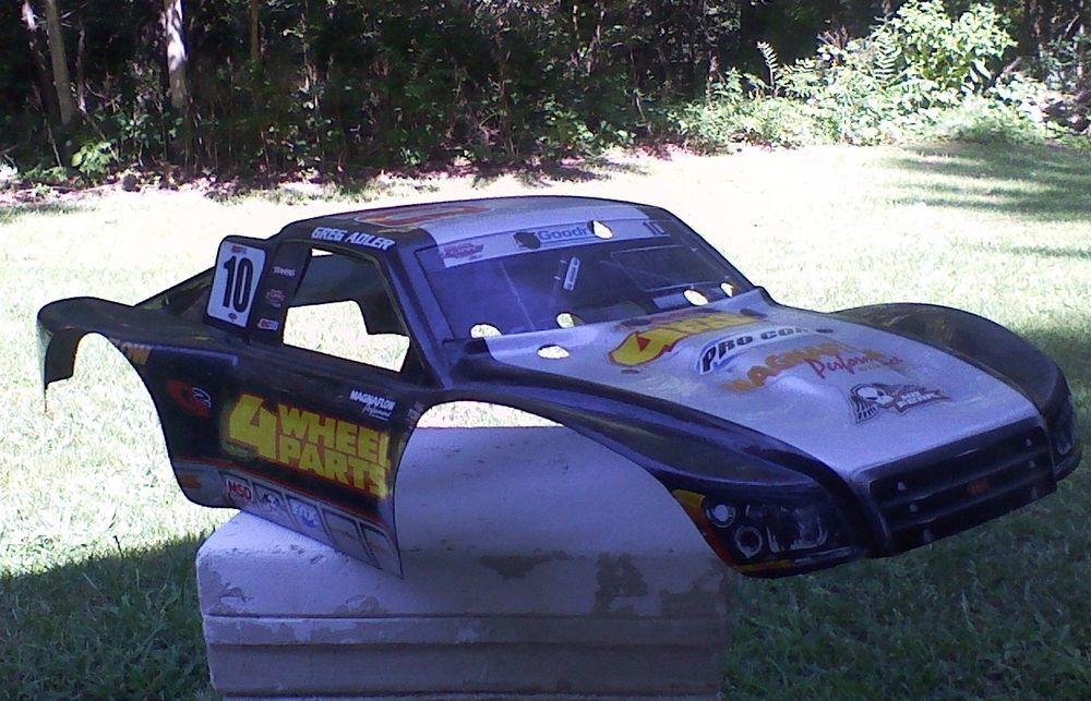 Traxxas Torc 4x4 2x4 10 Greg Adler Rc Car Truck Body Part 1 10