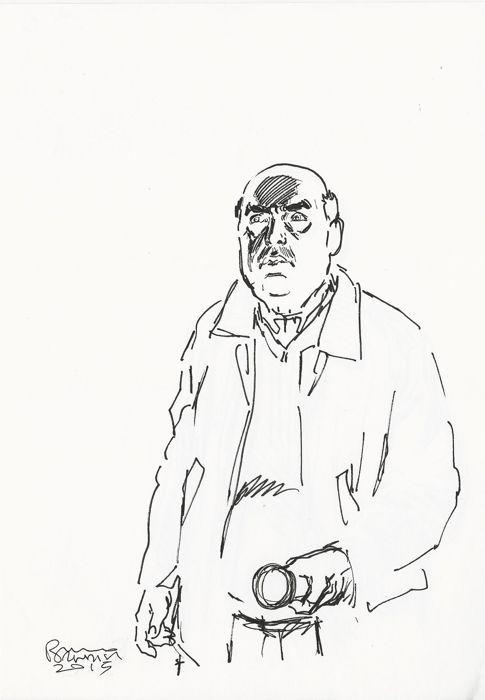 Brindisi, Bruno - sketch Dylan Doand Ispettore Blochg  (2015) - W.B.