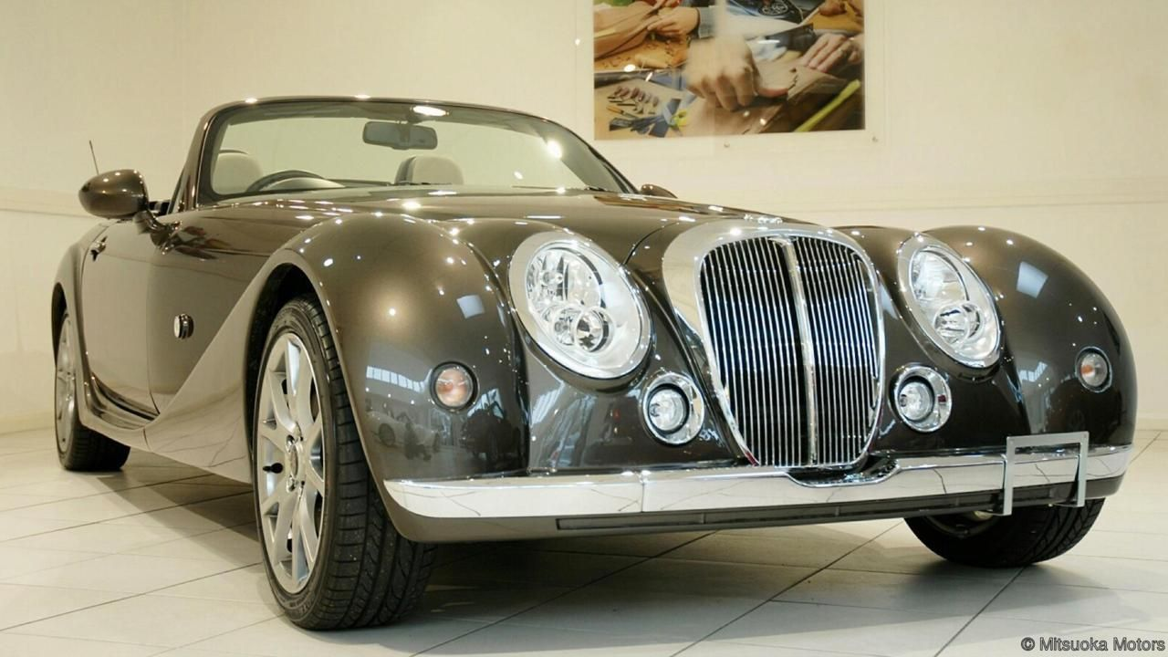 Mitsuoka Roadster The Mazda That Thinks It S A Morgan Roadsters Replica Cars Japanese Domestic Market