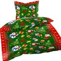 Schöne Kuschelig Warme Weihnachts Bettwäsche Microfaser