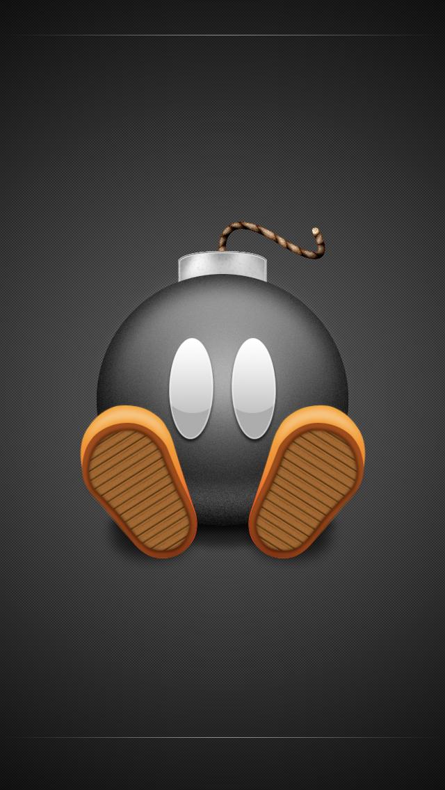 Bomb Black IPhone Wallpaper