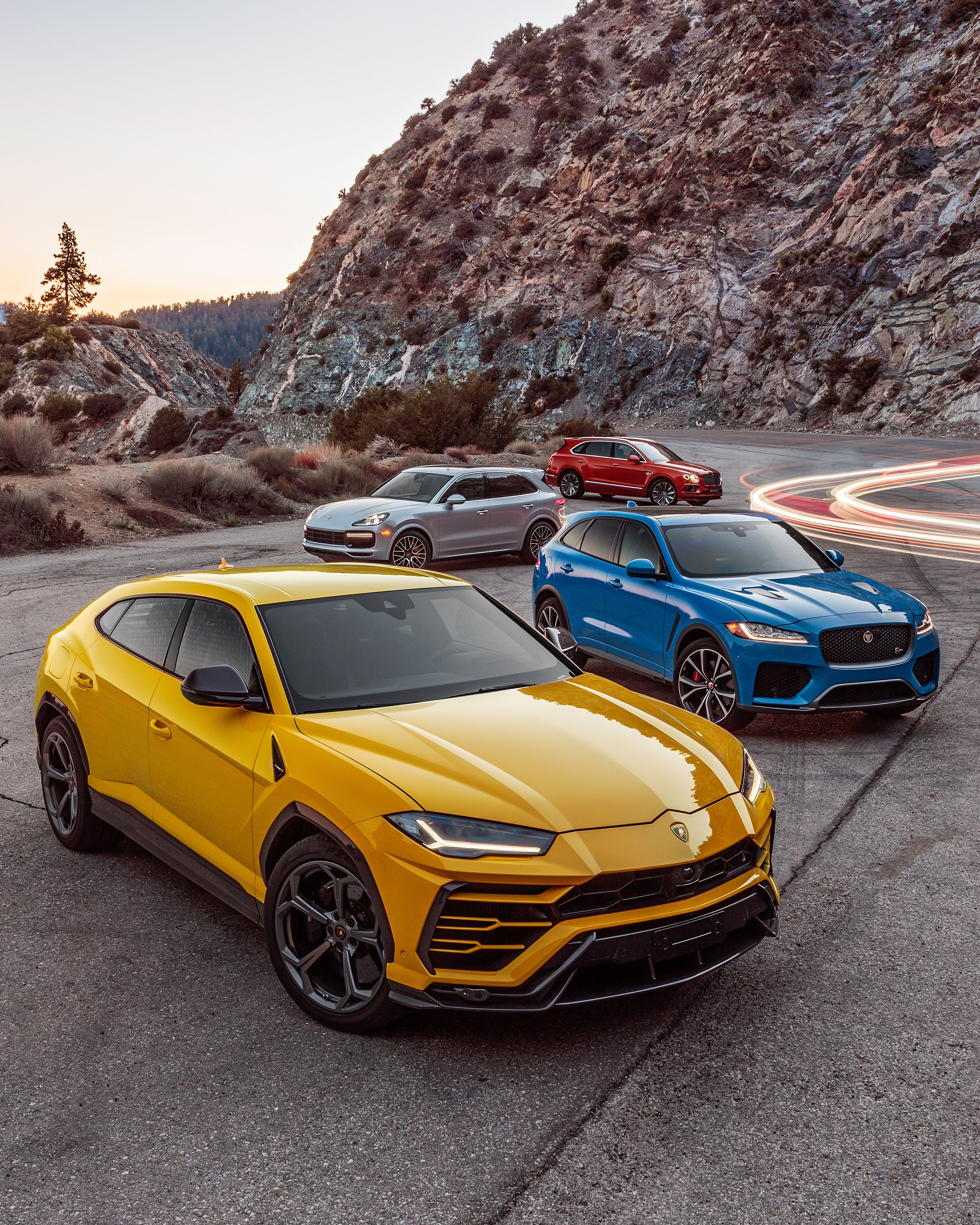 Porsche Cayenne Vs Lamborghini Urus Vs Bentley Bentayga Vs