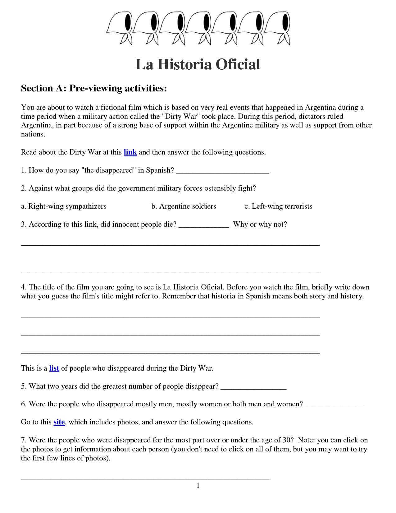 Spanish Present Tense Ar Verb Worksheets