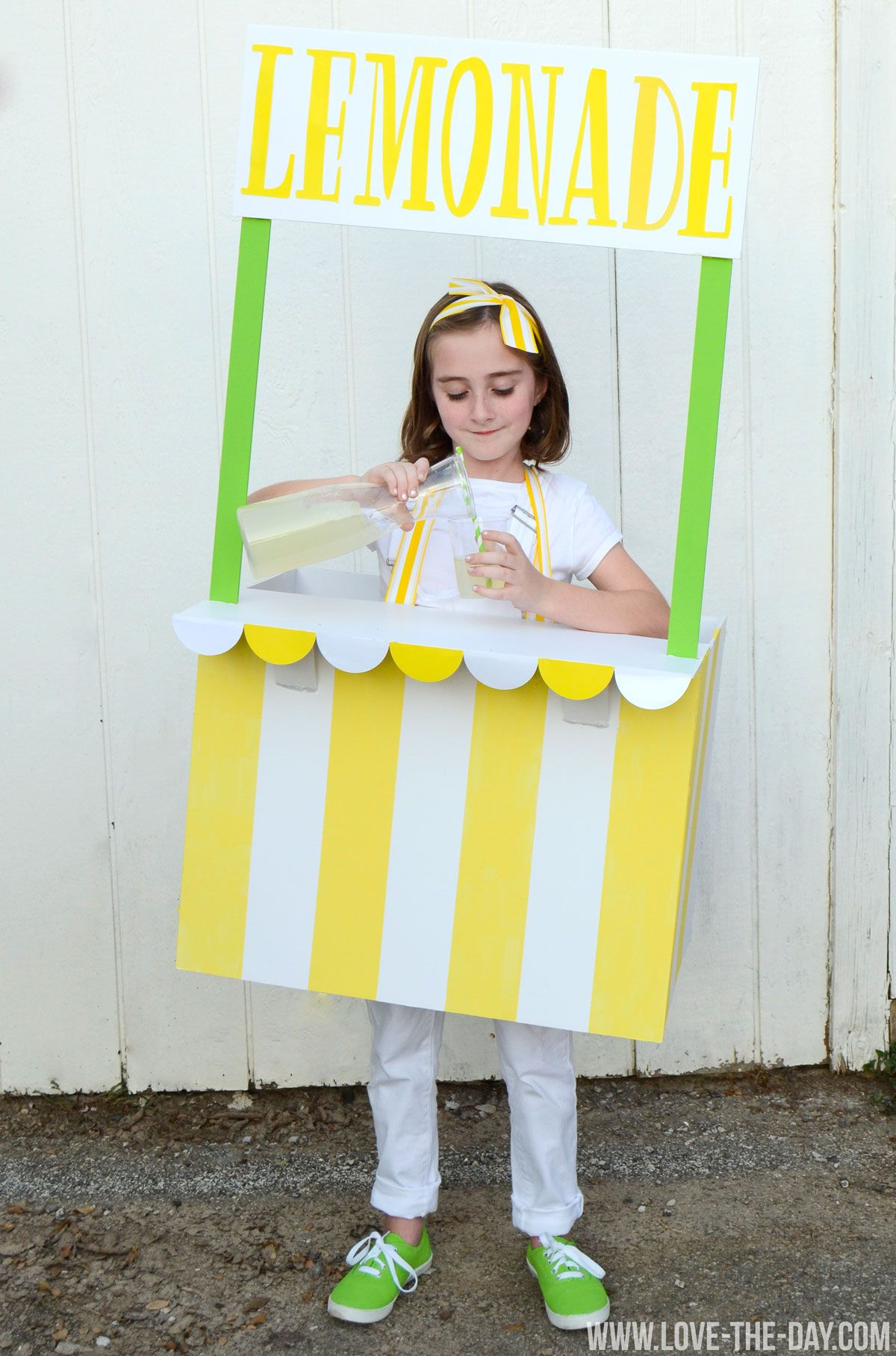 Costume Ideas for Kids Lemonade and Ice Cream Stands