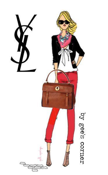 Gee's Corner: YSL Muse Two Handbags