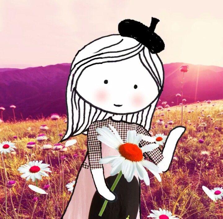 Annelinde Tempelman / Bloemen Plukken In De Weide
