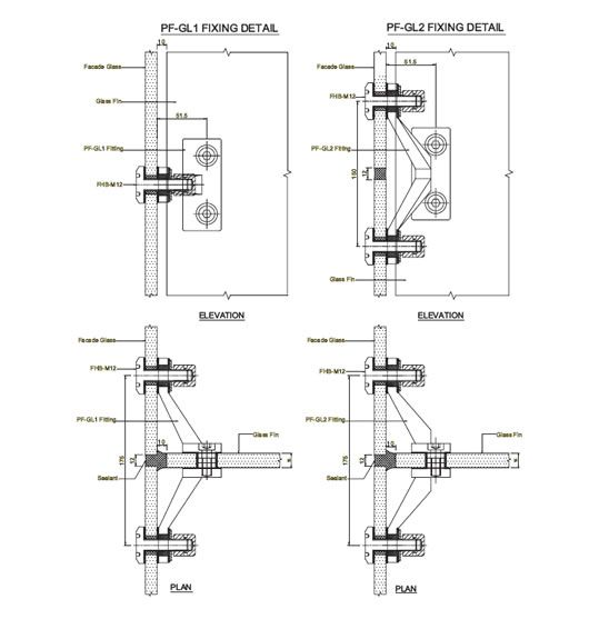 Spider Connection Glass : Space frame curtain wall connection google search