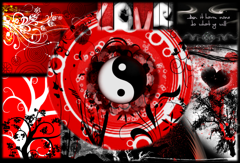 red white and black | black red and white wallpaper