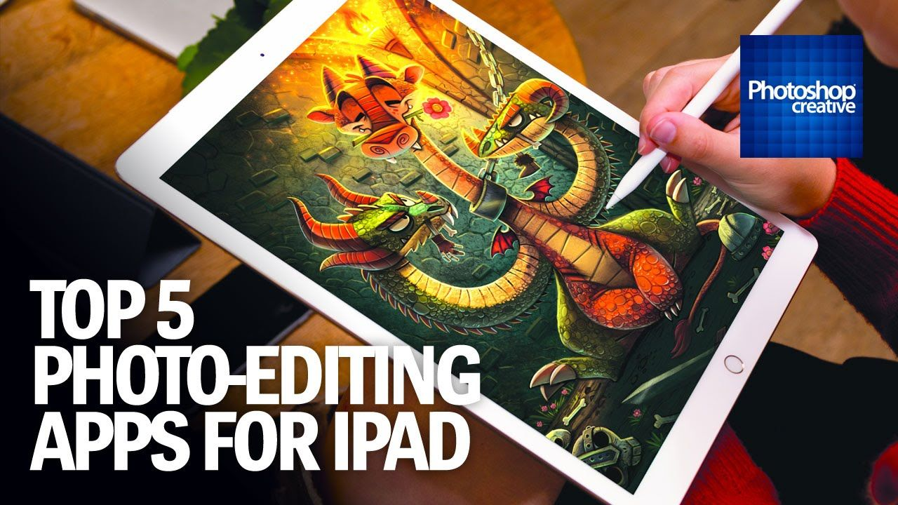 Top 5 Best Photoediting Apps for iPad YouTube (met