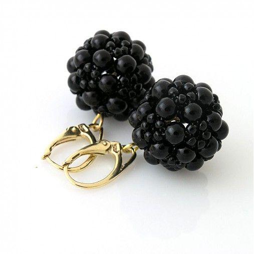 Perličkové čierne