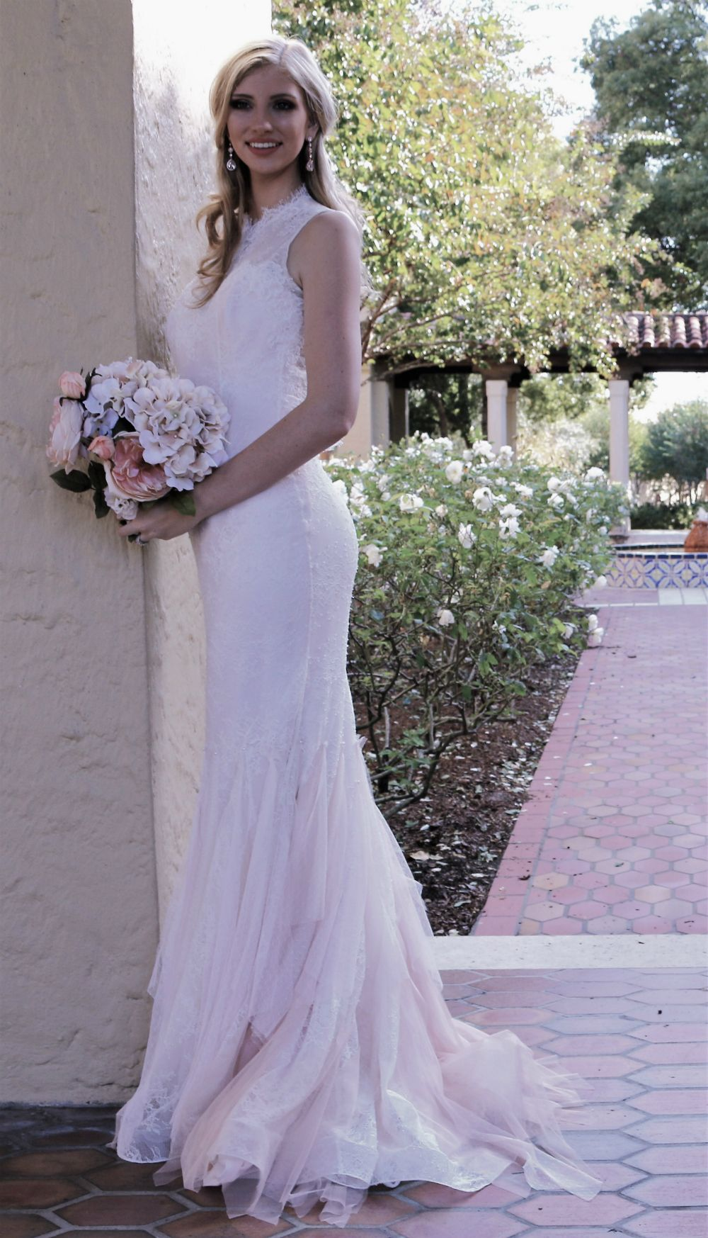 60s lace wedding dress  Romantic and Enchanting Wedding Dress Oneofakind gown inspired by
