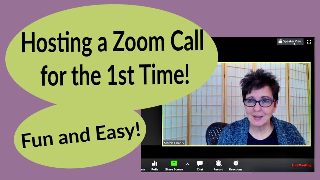How to Host a Zoom Call for the First Time Fun and Easy
